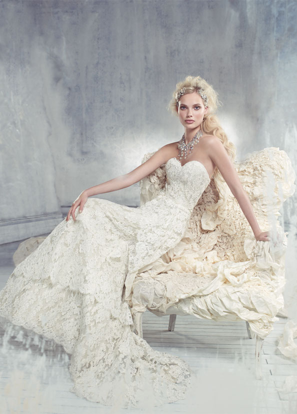 Alvina Valenta Bridal Gowns, Wedding Dresses Style AV9305 by JLM Couture, Inc.