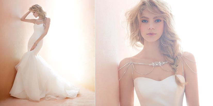 Blush Bridal Dresses Style 1450 by JLM Couture, Inc.