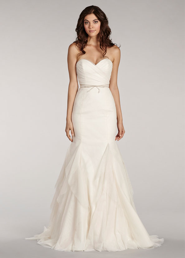 Blush Bridal Gowns, Wedding Dresses Style 1402 by JLM Couture, Inc.