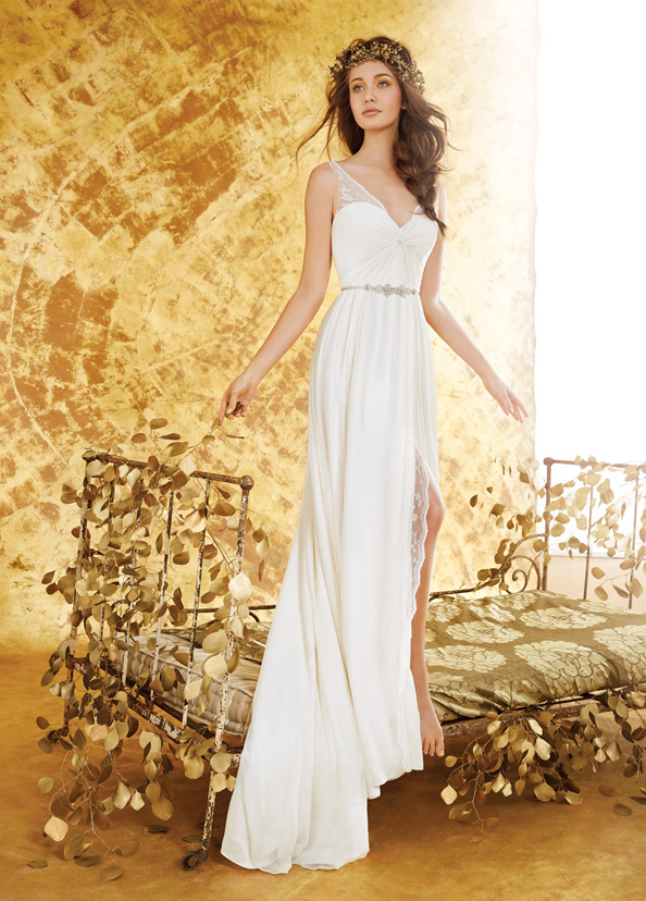 Blush Bridal Gowns, Wedding Dresses Style 1404 by JLM Couture, Inc.