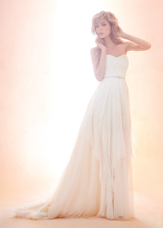 Blush Bridal Gowns, Wedding Dresses Style 1407 by JLM Couture, Inc.