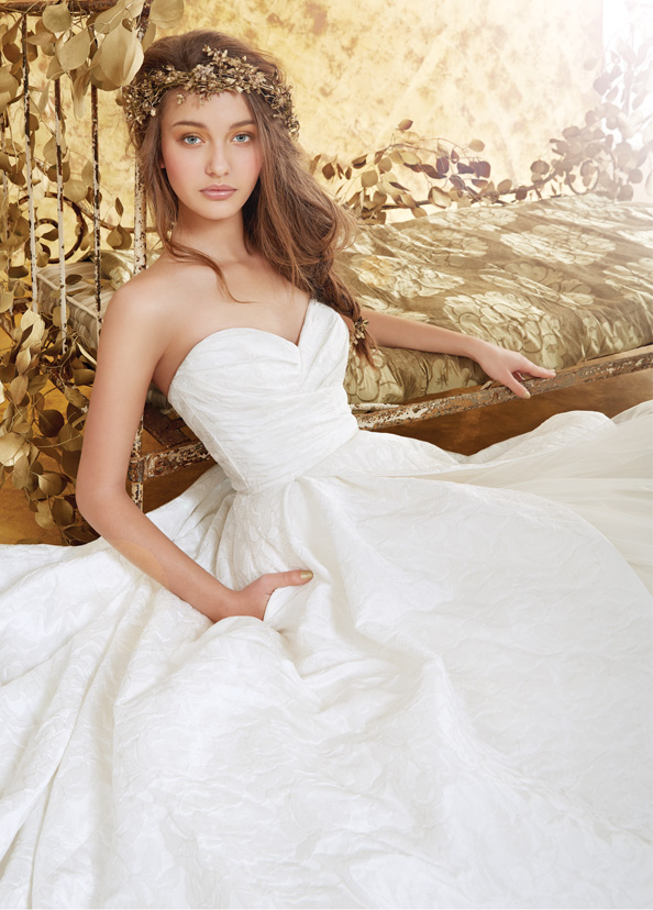 Blush Bridal Gowns, Wedding Dresses Style 1401 by JLM Couture, Inc.