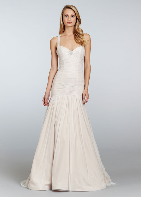 Blush Bridal Gowns, Wedding Dresses Style 1300 by JLM Couture, Inc.