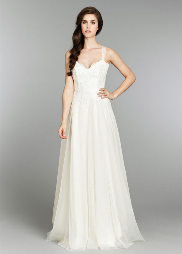 Blush Bridal Gowns, Wedding Dresses Style 1352 by JLM Couture, Inc.