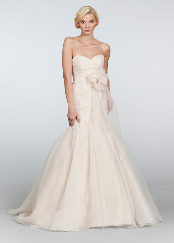 Blush Bridal Gowns, Wedding Dresses Style 1305 by JLM Couture, Inc.