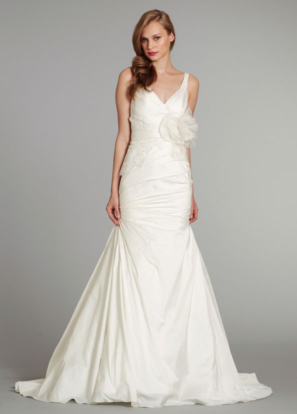 Blush Bridal Gowns, Wedding Dresses Style 1253 by JLM Couture, Inc.