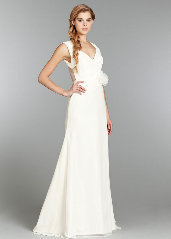 Blush Bridal Gowns, Wedding Dresses Style 1355 by JLM Couture, Inc.