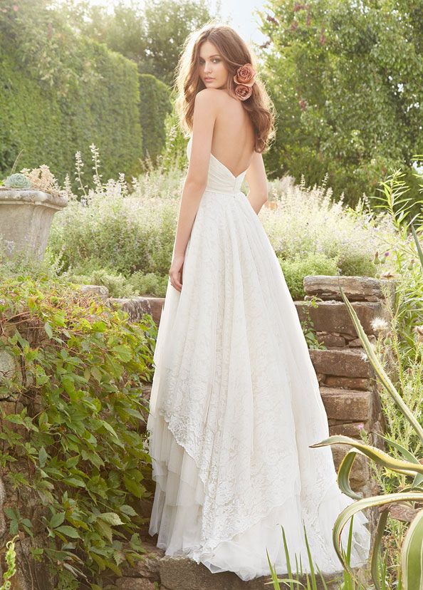 Blush Bridal Gowns, Wedding Dresses Style 1350 by JLM Couture, Inc.