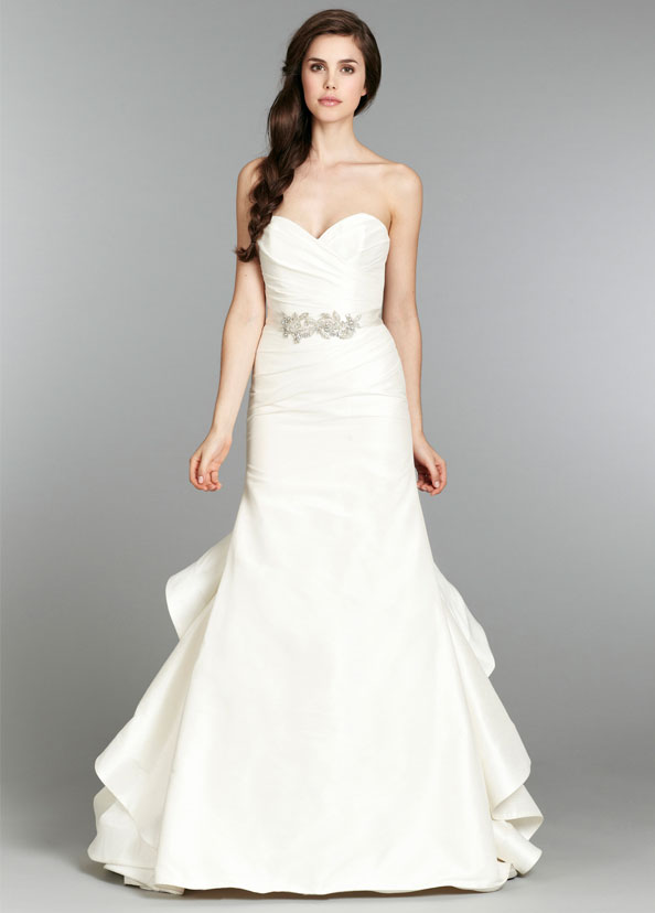 Blush Bridal Gowns, Wedding Dresses Style 1353 by JLM Couture, Inc.