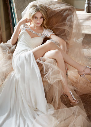 Hayley Paige Bridal Dresses Style 6308 by JLM Couture, Inc.