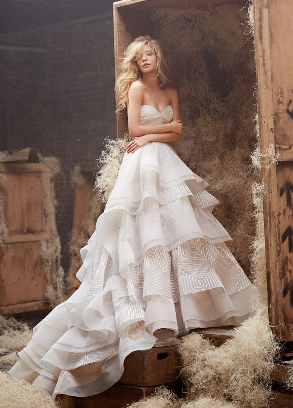 Hayley Paige Bridal Gowns, Wedding Dresses Style HP6400 by JLM Couture, Inc.