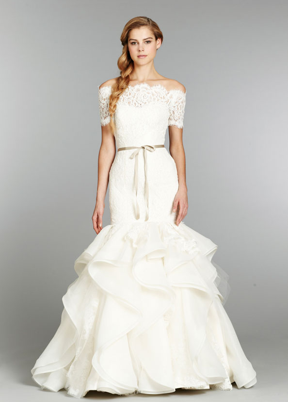 Hayley Paige Bridal Gowns, Wedding Dresses Style HP6357 by JLM Couture, Inc.