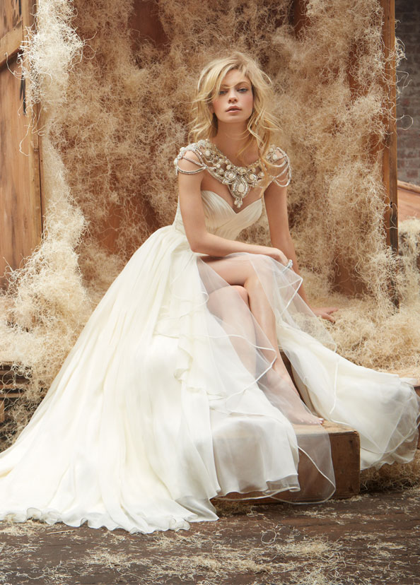 Hayley Paige Bridal Gowns, Wedding Dresses Style HP6409 by JLM Couture, Inc.