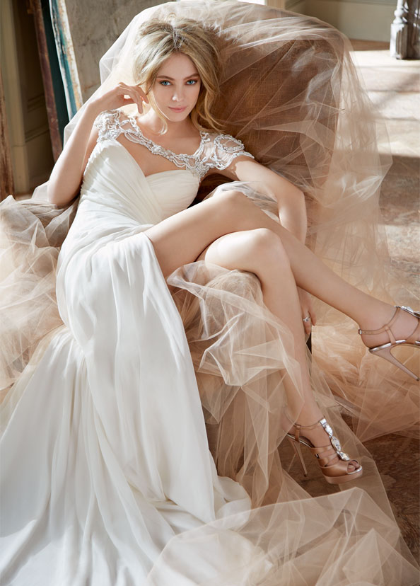 Hayley Paige Bridal Gowns, Wedding Dresses Style HP6308 by JLM Couture, Inc.