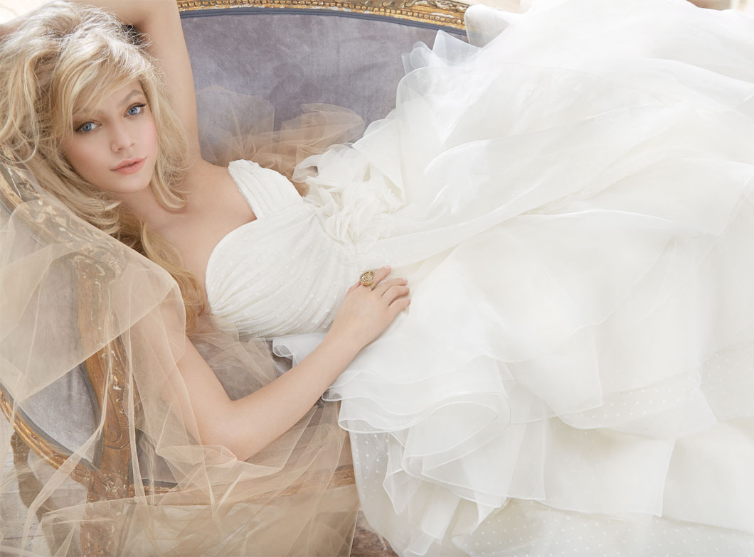 Hayley Paige Bridal Gowns, Wedding Dresses Style HP6361 by JLM Couture, Inc.