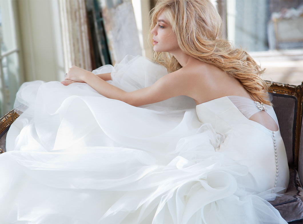 Hayley Paige Bridal Gowns, Wedding Dresses Style HP6302 by JLM Couture, Inc.