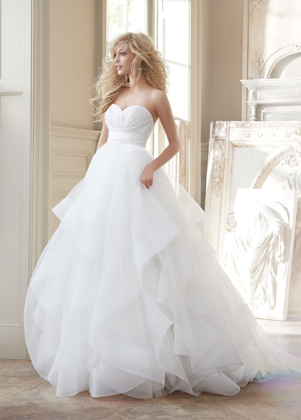 Hayley Paige Bridal Gowns, Wedding Dresses Style HP6358 by JLM Couture, Inc.
