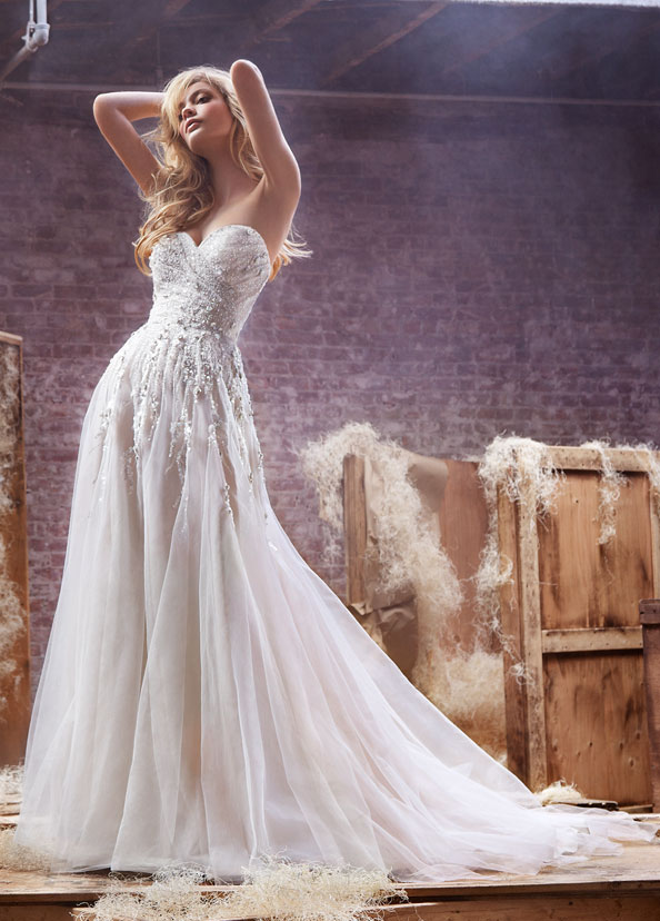 Hayley Paige Bridal Gowns, Wedding Dresses Style HP6412 by JLM Couture, Inc.