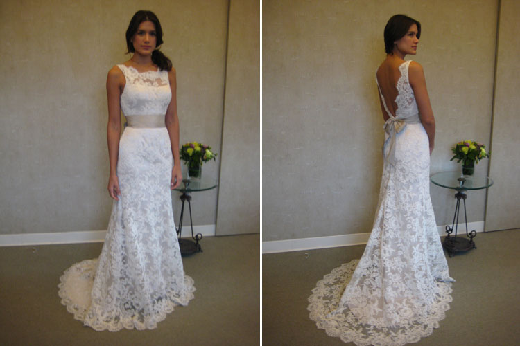 Silk Wedding Dresses With Lace Lace Dress Wedding
