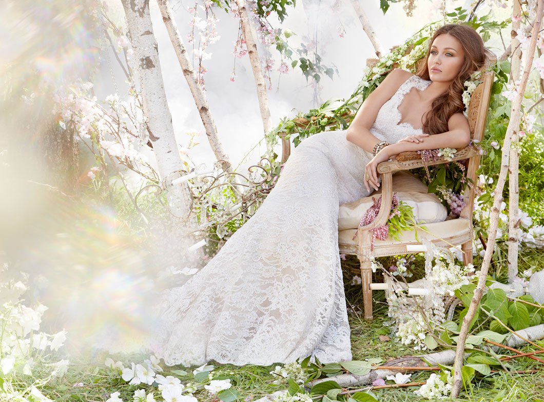 Jim Hjelm Bridal Gowns, Wedding Dresses Style jh8312 by JLM Couture, Inc.