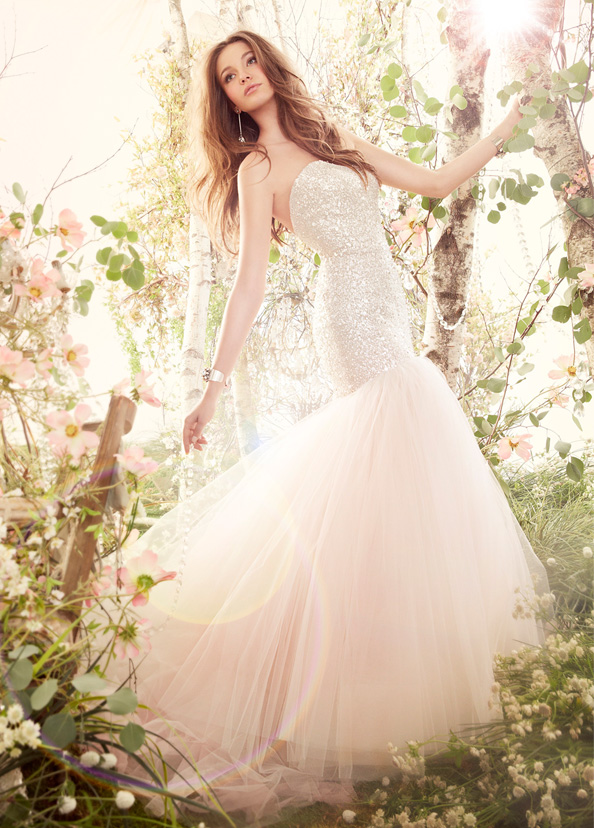 Jim Hjelm Bridal Gowns, Wedding Dresses Style jh8416 by JLM Couture, Inc.