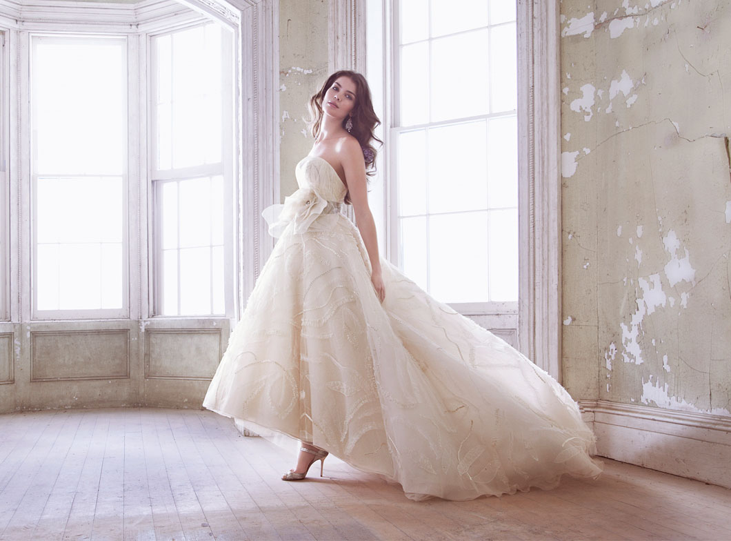 Jim Hjelm Bridal Gowns, Wedding Dresses Style jh8320 by JLM Couture, Inc.