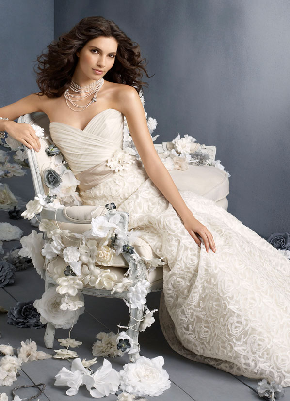 Jim Hjelm Bridal Gowns, Wedding Dresses Style jh8912 by JLM Couture, Inc.