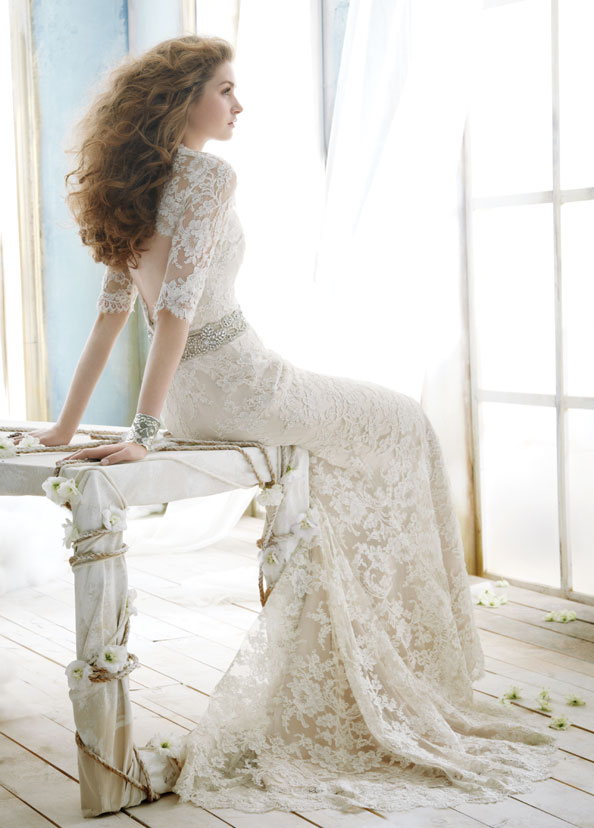 Jim Hjelm Bridal Gowns, Wedding Dresses Style jh8211 by JLM Couture, Inc.
