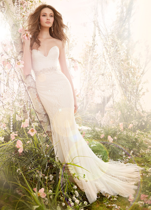 Jim Hjelm Bridal Gowns, Wedding Dresses Style jh8410 by JLM Couture, Inc.