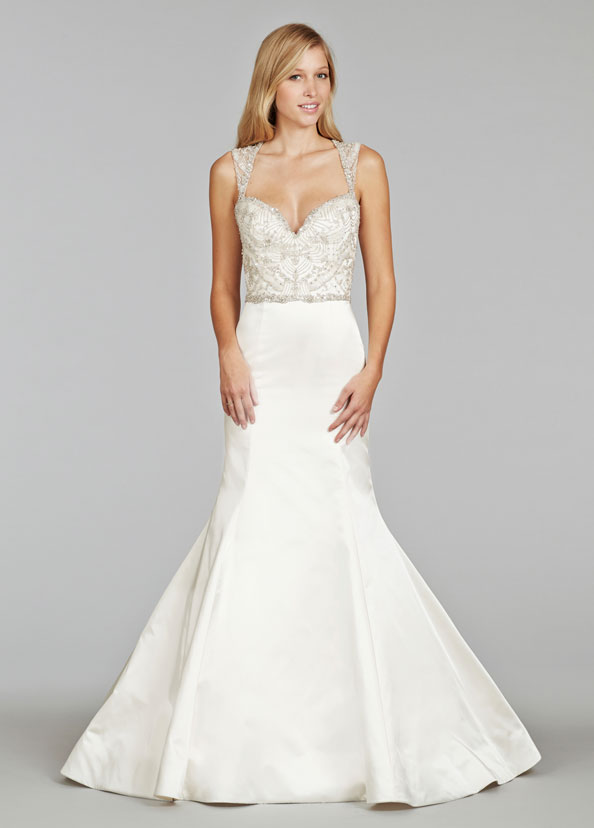 Jim Hjelm Bridal Gowns, Wedding Dresses Style jh8404 by JLM Couture, Inc.