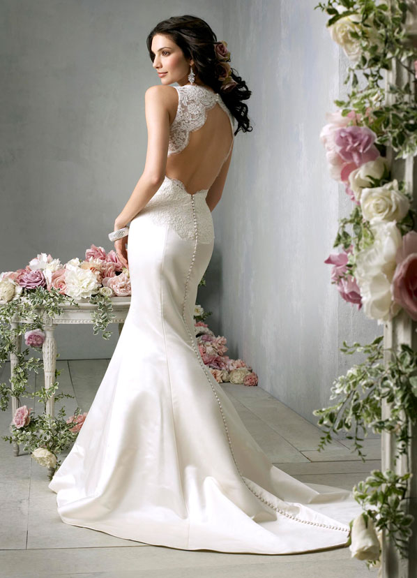 Jim Hjelm Bridal Gowns, Wedding Dresses Style jh8859 by JLM Couture, Inc.