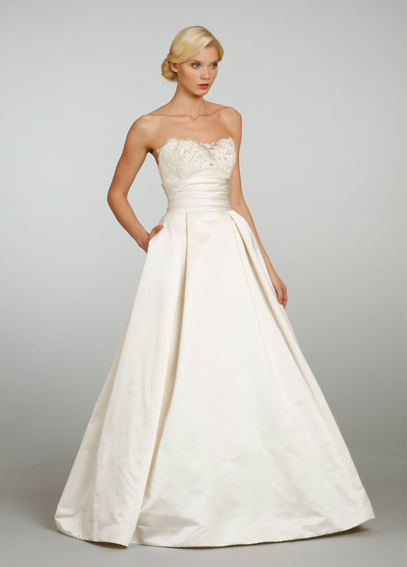 Jim Hjelm Bridal Gowns, Wedding Dresses Style jh8306 by JLM Couture, Inc.