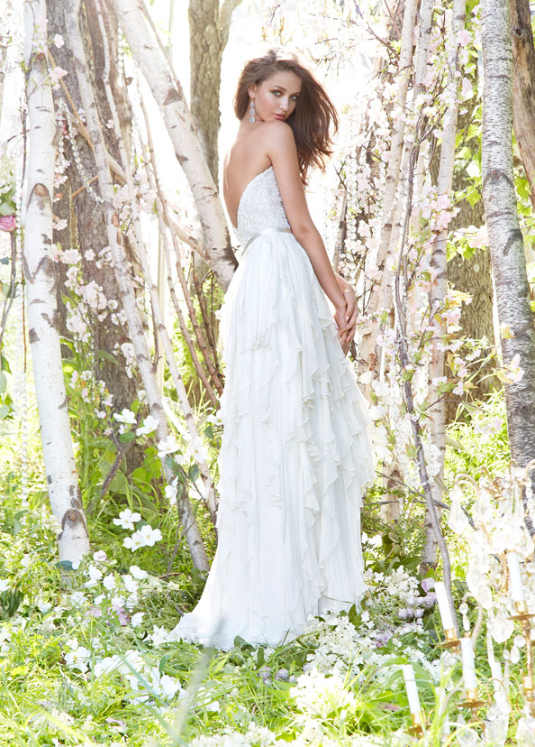 Jim Hjelm Bridal Gowns, Wedding Dresses Style jh8353 by JLM Couture, Inc.