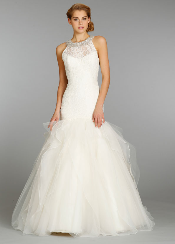 Jim Hjelm Bridal Gowns, Wedding Dresses Style jh8350 by JLM Couture, Inc.