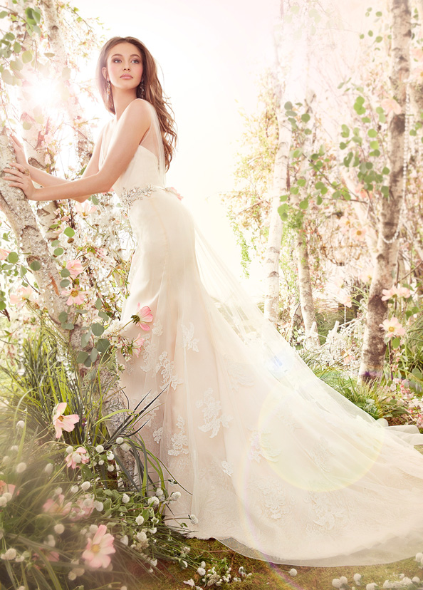 Jim Hjelm Bridal Gowns, Wedding Dresses Style jh8413 by JLM Couture, Inc.