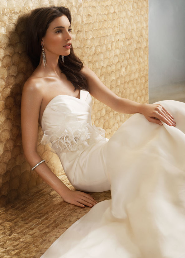 Jim Hjelm Bridal Gowns, Wedding Dresses Style jh8153 by JLM Couture, Inc.