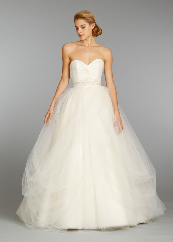 Jim Hjelm Bridal Gowns, Wedding Dresses Style jh8351 by JLM Couture, Inc.