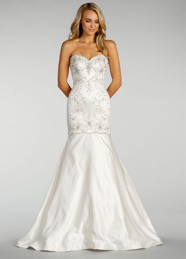 Wedding Dresses Modified A Line : Lovelle by lazaro bridal gowns wedding dresses style ll jlm
