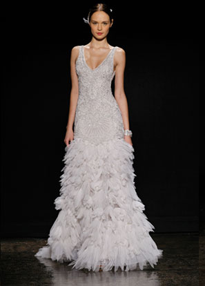 Lazaro Bridal Dresses Style 3406 by JLM Couture, Inc.