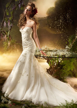 Lazaro Bridal Dresses Style 3002 by JLM Couture, Inc.