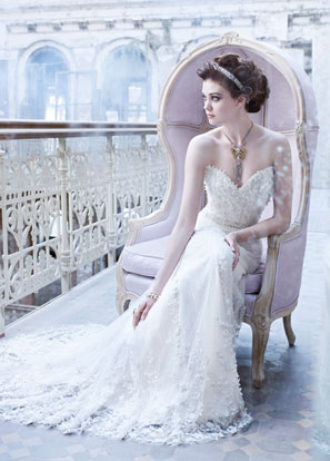 Lazaro Bridal Dresses Style 3261 by JLM Couture, Inc.