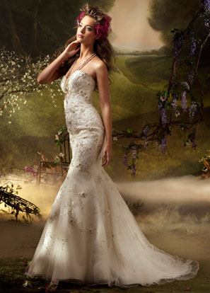Lazaro Bridal Dresses Style 3003 by JLM Couture, Inc.