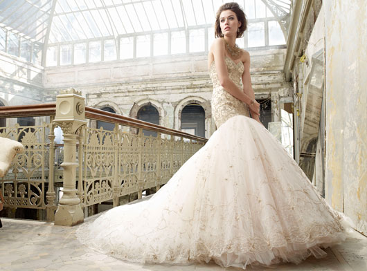 Lazaro Bridal Dresses Style 3217 by JLM Couture, Inc.