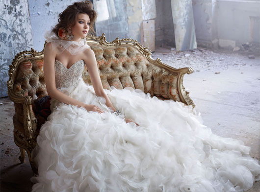 Lazaro Bridal Dresses Style 3161 by JLM Couture, Inc.