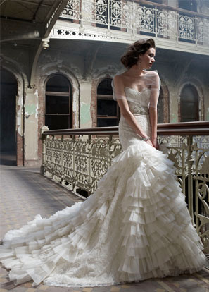 Lazaro Bridal Dresses Style 3200 by JLM Couture, Inc.