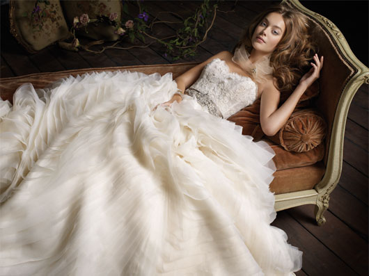 Lazaro Bridal Dresses Style 3100 by JLM Couture, Inc.