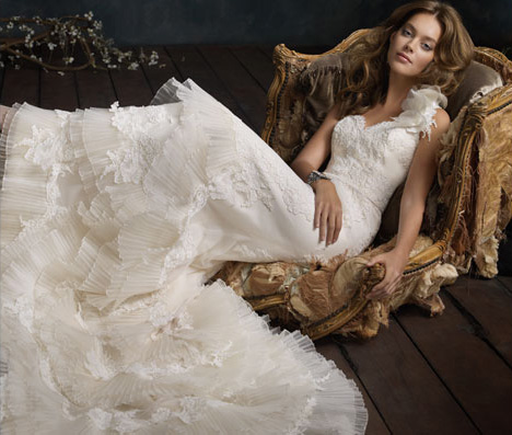 Lazaro Bridal Dresses Style 3101 by JLM Couture, Inc.