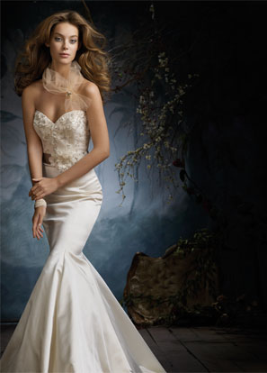 Lazaro Bridal Dresses Style 3105 by JLM Couture, Inc.