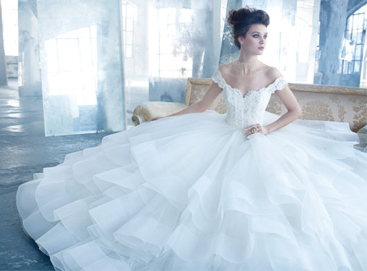 Lazaro Bridal Dresses Style 3309 by JLM Couture, Inc.