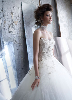 Lazaro Bridal Dresses Style 3152 by JLM Couture, Inc.